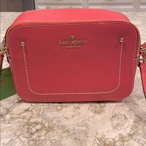 NEW! Kate Spade Crossbody bag purse Bright Pink